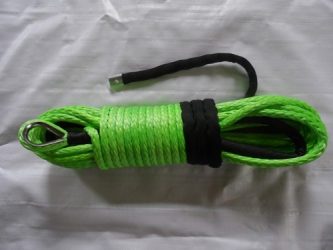 Green Winch Rope