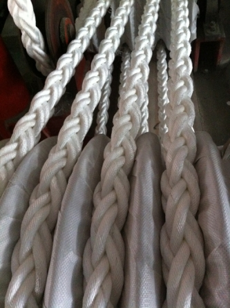 Polypropylene multifilament 8-strand braided ropes