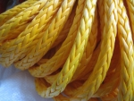 Yellow Winch Rope
